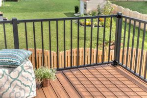 Trex railing product lines