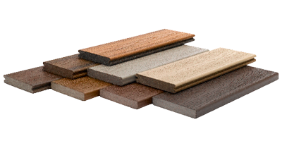 A Trex composite deck is worry free compared to wooden decks made from redwood, cedar, or pressure treated lumber.