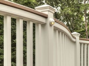 Mix and match Trex railing components combine for a custom design