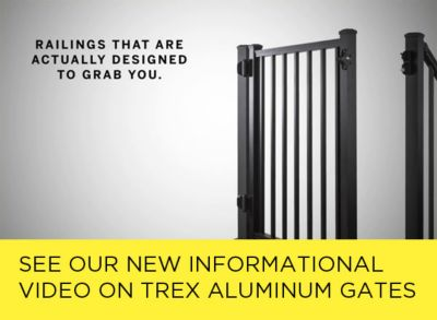 Trex Aluminum Gates Informational Video