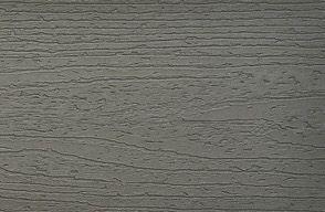 Prøve av Trex Enhance-kompositterrasse i Clam Shell-grå