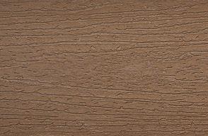 Échantillon de plancher composite Trex Enhance en Saddle