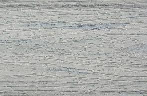 Muster Enhance Terrassendielen aus Verbundmaterial in Foggy Wharf Grau