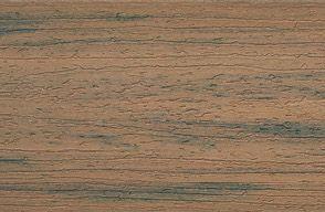 Muster Trex Enhance Fascia aus Verbundstoff in Toasted Sand