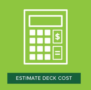 Composite decking composite deck materials trex Building materials cost calculator