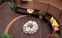 Trex Deck Design Ideas trex transcend composite decking and railing trex island mist Photo Gallery Featuring Trex Deck Designs And Ideas For The Northwestern Us Trex