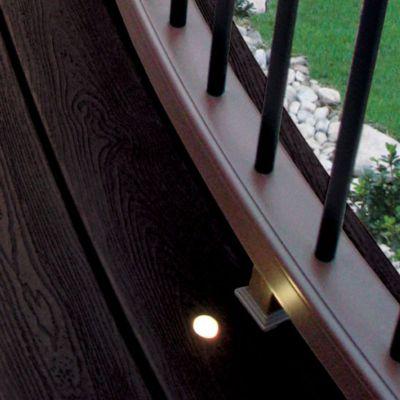 trex deck lighting. RECESSED DECK LIGHT Trex Deck Lighting