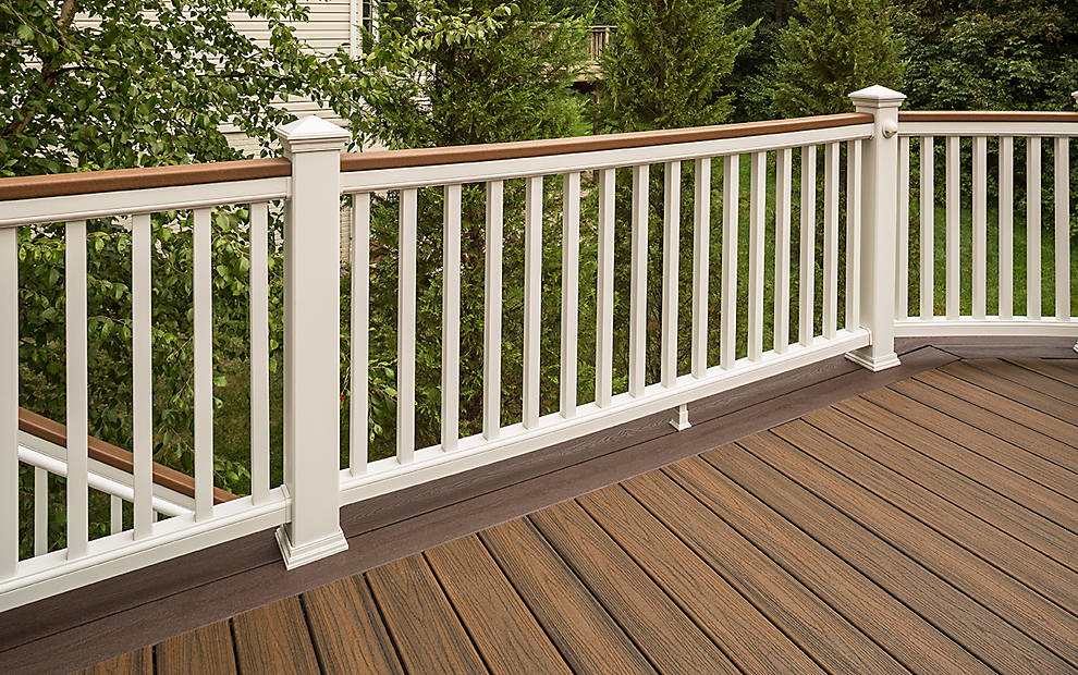 Trex transcend composite deck railing trex for Composite deck railing