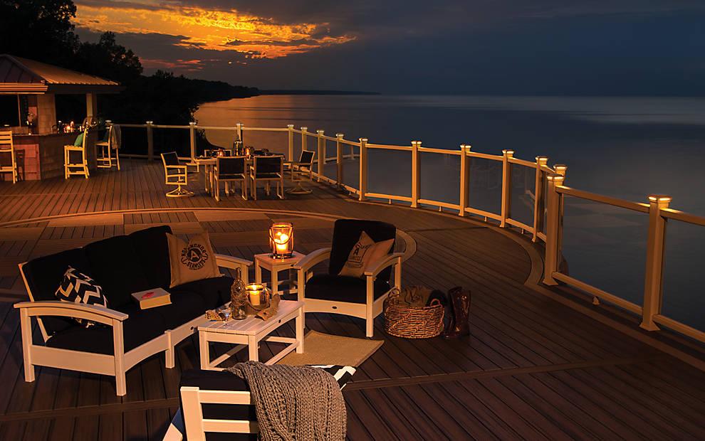 Trex Decking Cost >> Deck Lighting | Post Lights | LED Step & Stair Lights | Trex