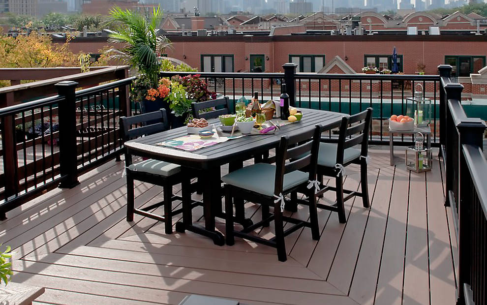 Trex Decking Colors >> Modern Decks | New Decking Styles | Trex