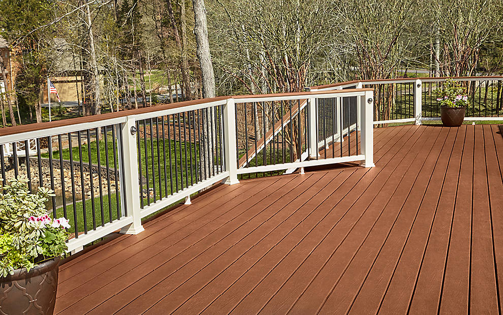 Trex Decking Colors >> Trex Enhance® Composite Decks and Decking Materials | Trex