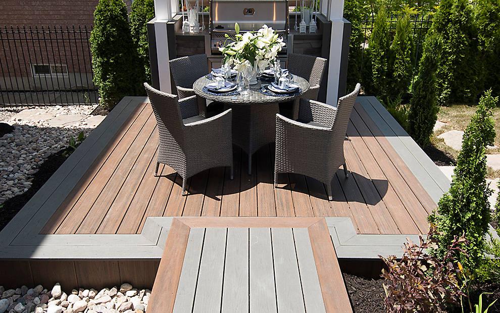 Small Deck Design Ideas & Photos   Trex on Backyard Trex Deck Ideas id=78871