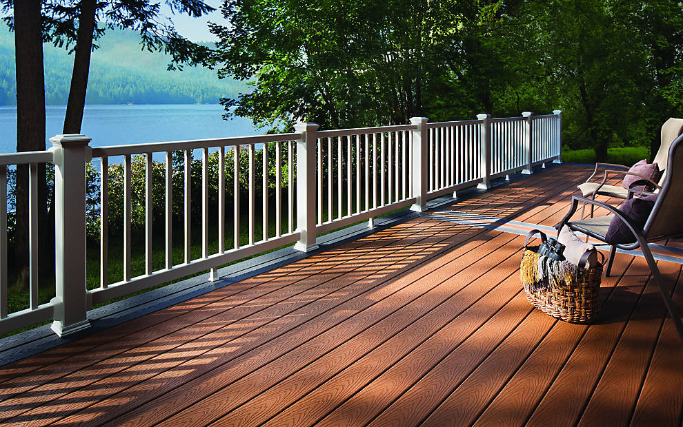 Trex Select® Decking u0026 Railing for Decking Composite Designs | Trex
