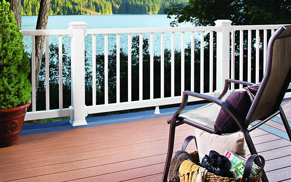 Trex Decking Cost >> Trex Select® Railing - High Quality Deck and Stair Railing | Trex