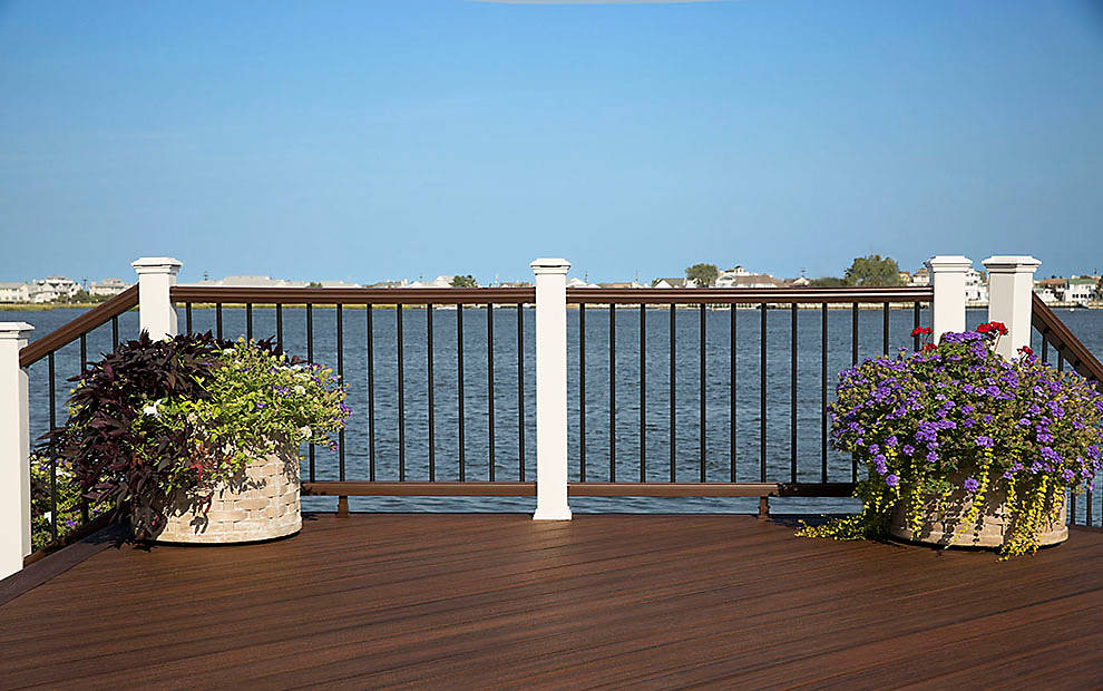 Deck Railing Design Ideas outdoor deck railing designs Slideshow
