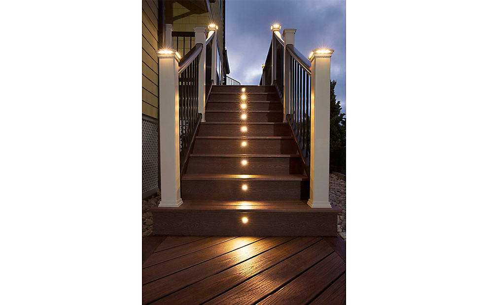 Lighting Basement Washroom Stairs: Deck Lighting Ideas