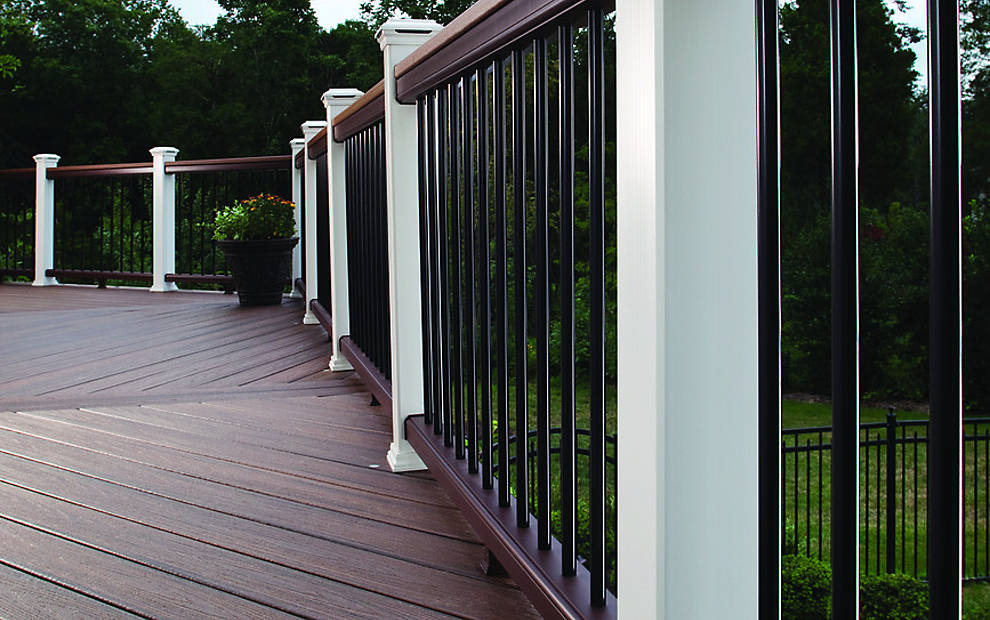 Trex Post Components - Outdoor Stairs Railing for Any ...