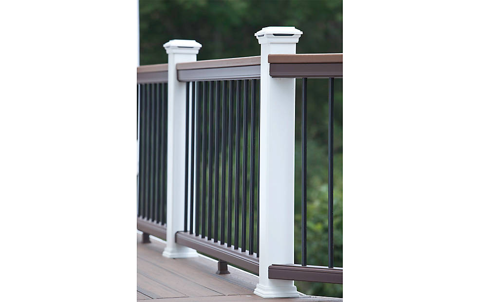 Trex Decking Cost >> Trex Post Components - Outdoor Stairs Railing for Any ...