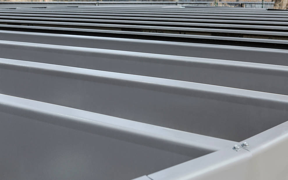 Trex Decking Cost >> Elevations | Steel Deck Framing & Substructure Supplies | Trex
