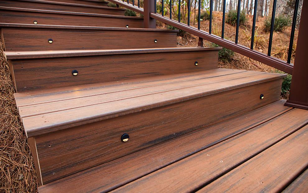 25 Benefits Pf Stair Lights Outdoor: Deck Lighting Ideas