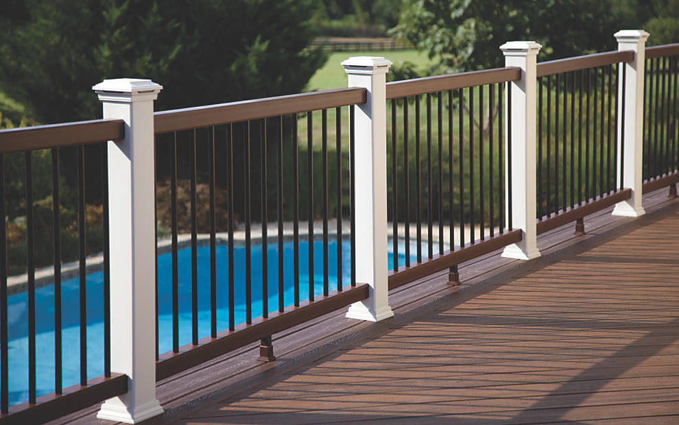Deck Railing Design Outdoor Balustrade Inspiration Trex