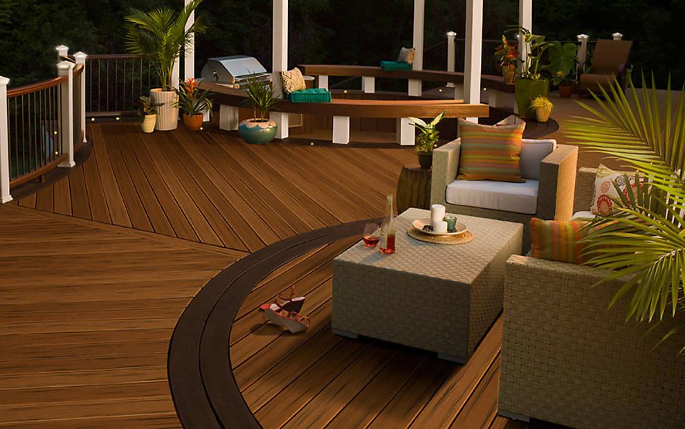 Deck Designs   Decking Ideas & Pictures   Patio Designs   Trex on Backyard Trex Deck Ideas id=83167