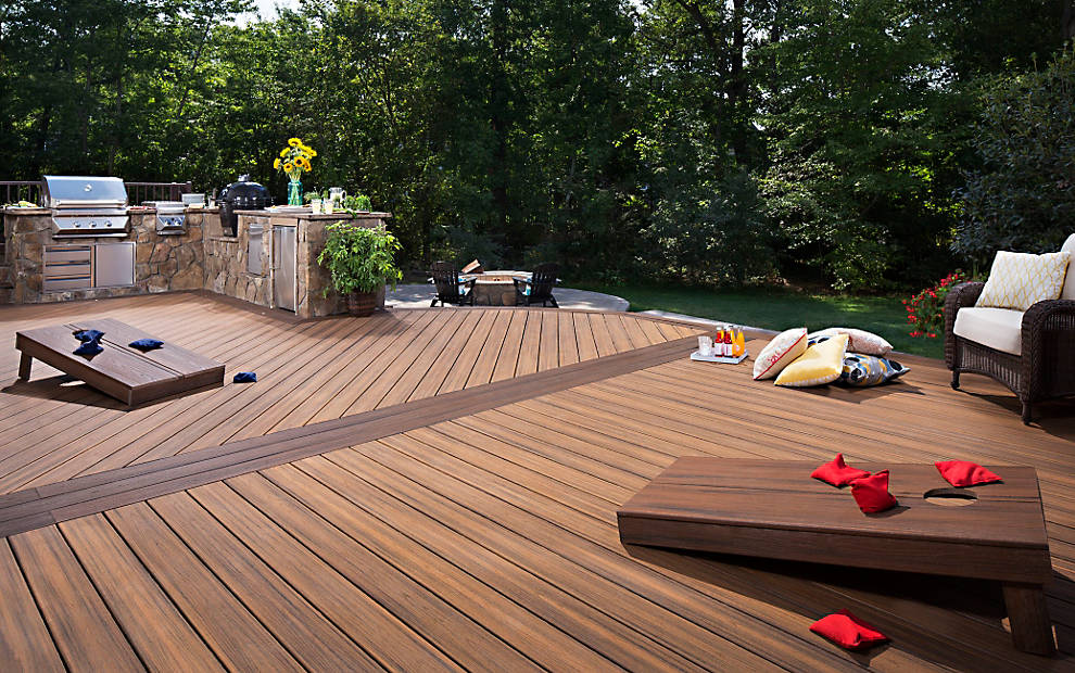 Trex Decking Colors >> Transcend Composite Decking | Deck Floors | Trex