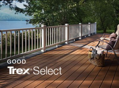 If you're using Trex's Select decking line, our deck cost calculator can determine the price of the materials you'll need.