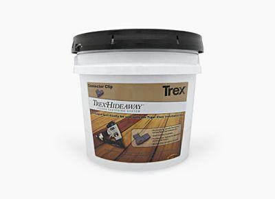 Trex Hideaway Hidden Fastening System Gun pail