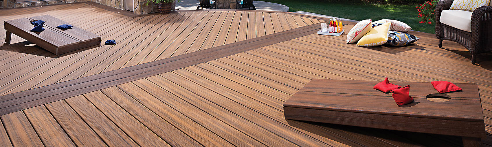 Trex decking images galleries with a for Alternative to decking