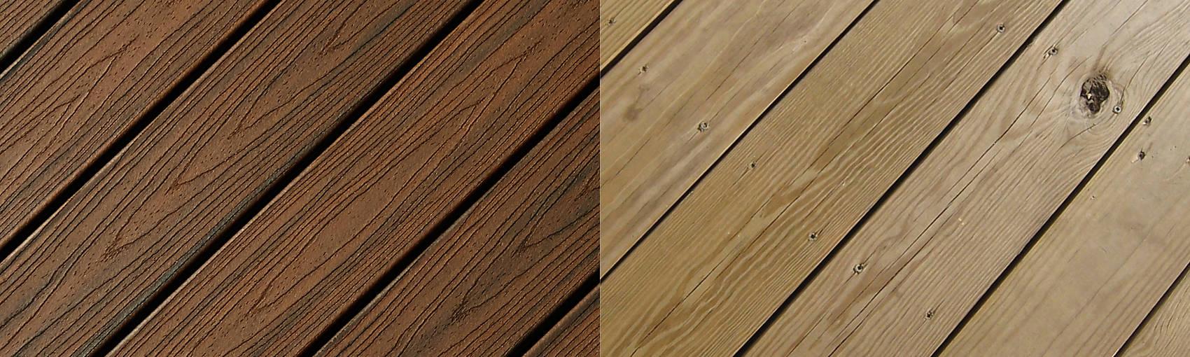 Composite decking composite deck materials trex baanklon Image collections