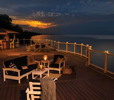 Outdoor Furniture from Trex adds the finishing touch to your dream deck.