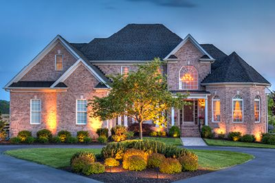 Enhance the look of your home with Trex's sophisticated exterior light fixtures and low voltage deck lighting