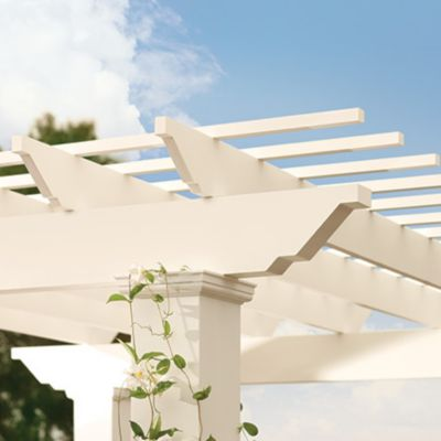 Trex Pergola provides the perfect amount of shade and a style that will enhance any outdoor space