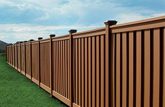 Trex Seclusions Composite Fencing adds privacy and a distinctive look