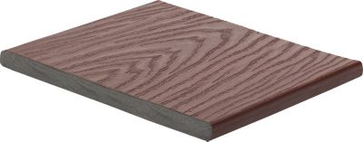 Planche de bordure en composite Trex Select 25,4 mm x 30,4 cm en rouge Madeira
