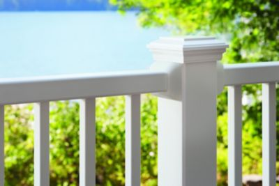 Trex Select composite railing in Classic White