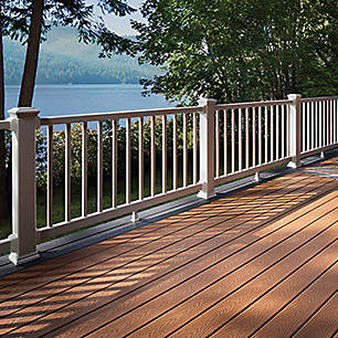 Looking for Northwest style? Trex's gallery of high-performance composite deck ideas can help you get there.