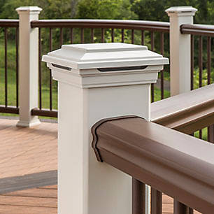 Don't forget the railing! View more railing ideas from Trex to complete the look of your high-performance composite deck.