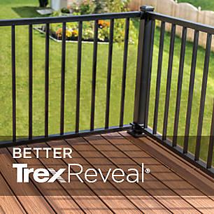 Deck Railing Systems   Composite Outdoor Deck Rails   Trex