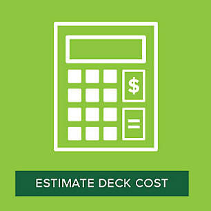 Calculate the cost of decking materials with Trex's handy Deck Cost Calculator.