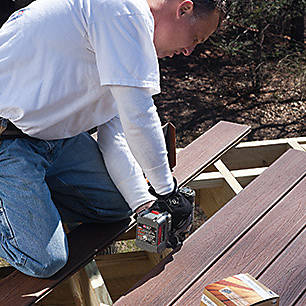 Don't leave anything out, consult Trex's DIY deck building checklist when gathering your supplies.