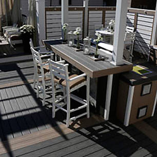 Trex's gallery of coastal deck designs will give you an idea for how to embrace beach vibes wherever you live.