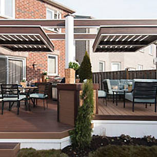 Sleek, bold, and always long-lasting, view Trex's collection of modern deck ideas to get a feel for how to make your dream deck a reality.