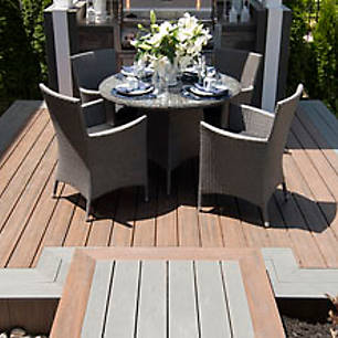 See how others made a big statement in a small space by viewing Trex's gallery of composite deck designs.