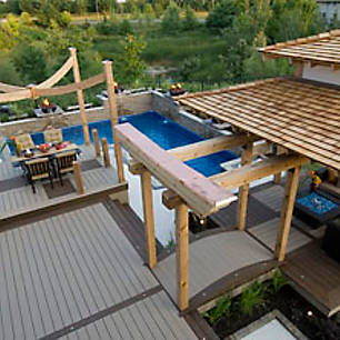 Add some Eastern influence to your outdoor living space. Check out Trex's gallery of high-performance composite deck designs to get started!