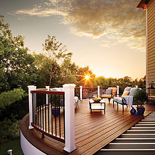 elevations view a collection of deck design ideas - Deck Design Ideas
