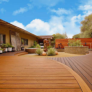 Draw inspiration from the Southwest with this gallery of bright and bold deck designs from Trex.