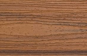 Swatch Of Trex Transcend Decking In Premium Tropical Tiki Torch