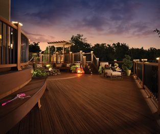 Trex provides a suite of outdoor living products to suit any style